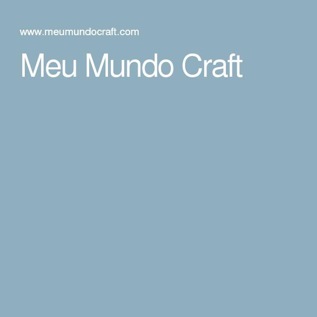 Meu Mundo Craft
