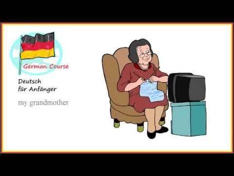German Course 04 Familie Deutsch für Anfänger Family guy