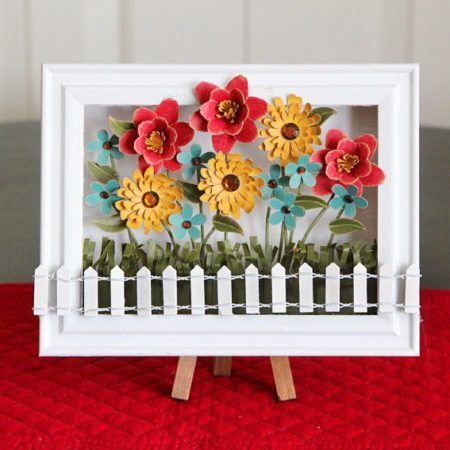 Spring Decoration Flower Shadow Box Crafts Unleashed