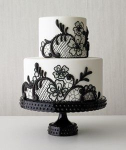 Stylish Wedding Cakes Would Not Have This In My Wedding But It - Stylish birthday cakes