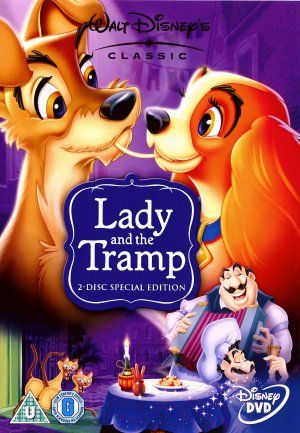 Lady And The Tramp Dvd Cover From The Uk Disney Movie Posters Lady And The Tramp Movie Covers