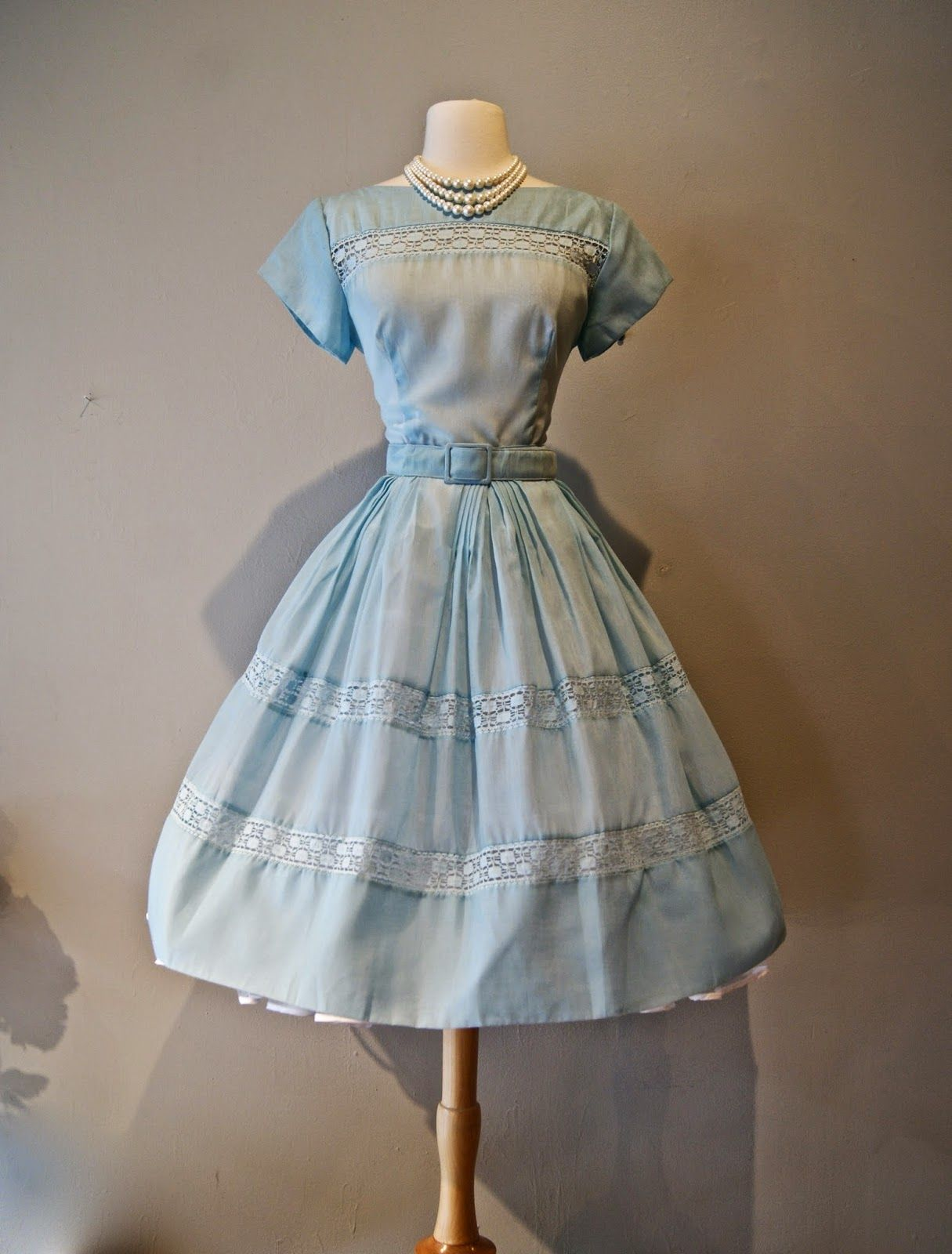 Vintage 1950\'s dress at Xtabay Vintage Clothing Boutique - Portland ...