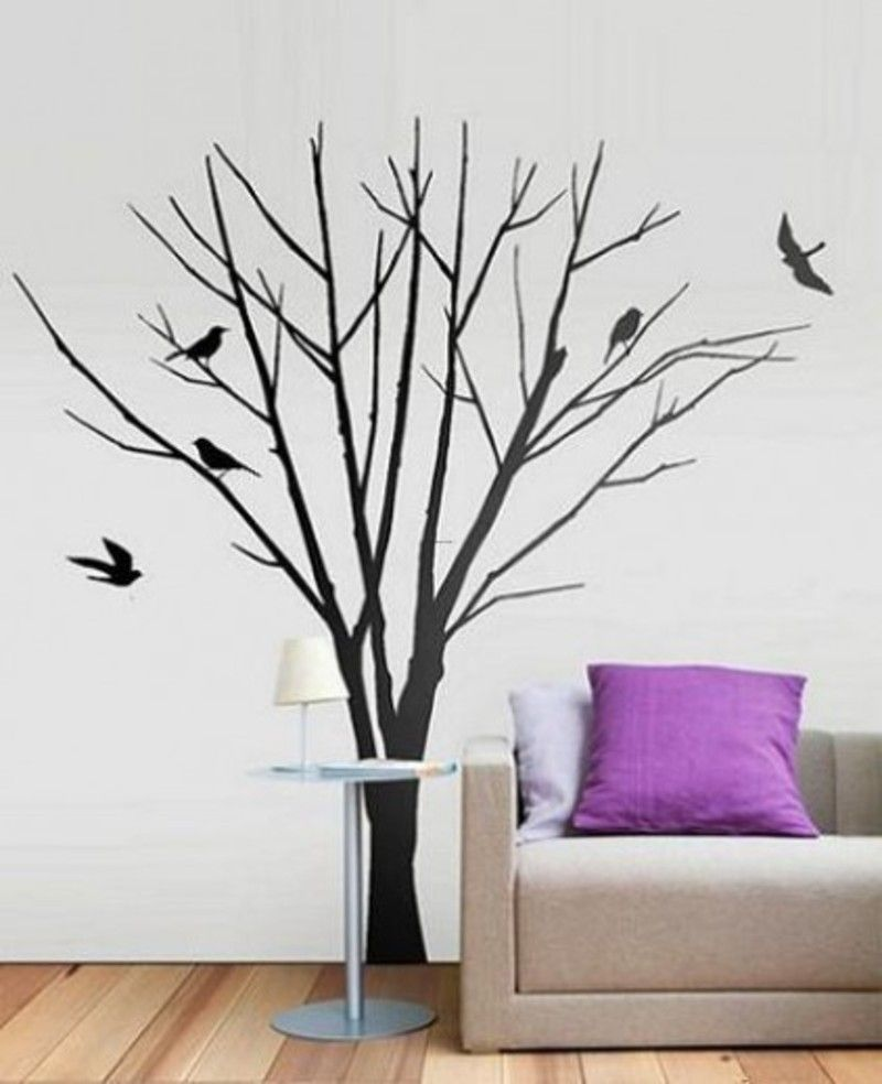 Wall Tree | Wall Art Sticker, Pheric This Creates A Stunning Feature Wall.