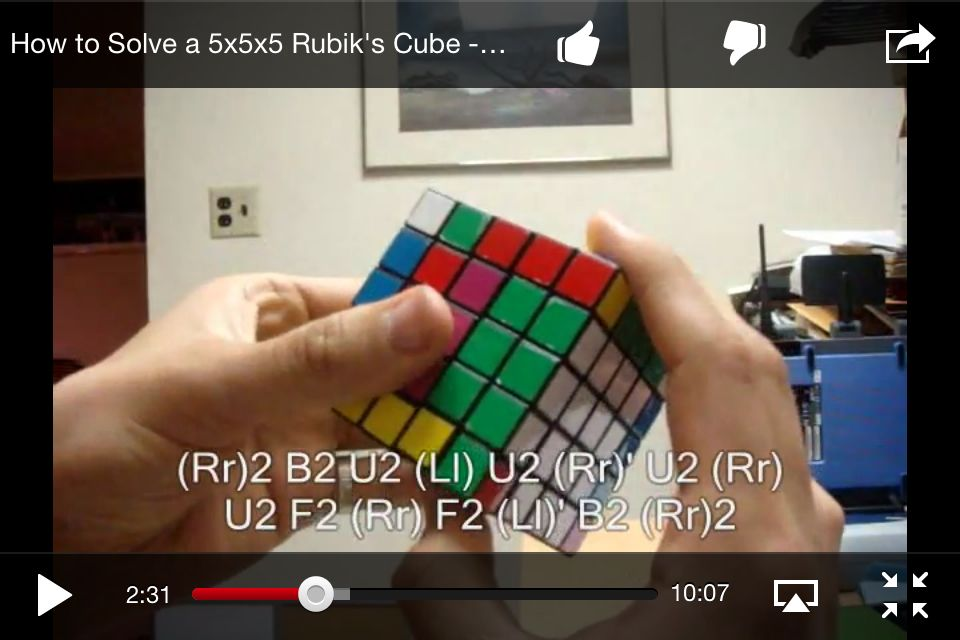 My favourite 5x5 parity (case 1) solution, by RobH0629@youtube  I