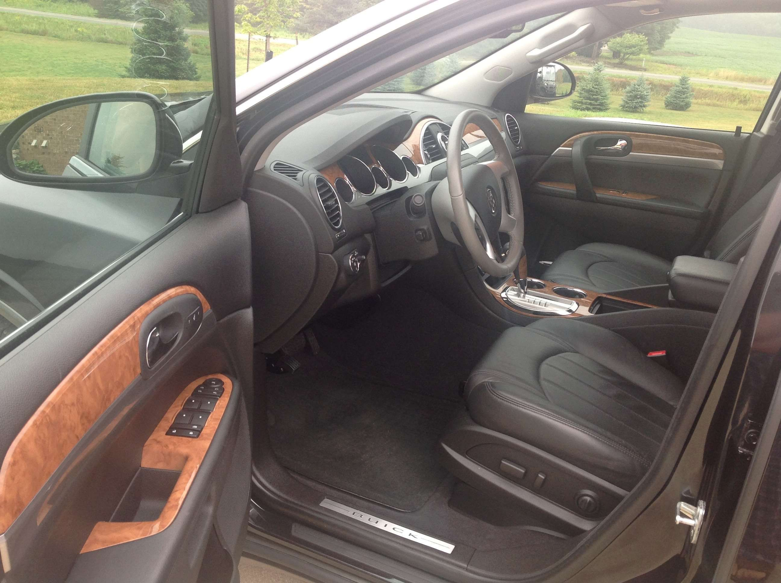 fq shown dr exterior buick suv cars review enclave interior group premium colors oem