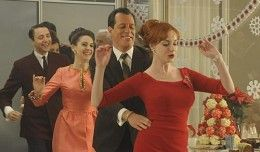 21bae6a455b61 Mad Men Christmas Party - Conga Line! | Have Yourself A Very Vintage ...