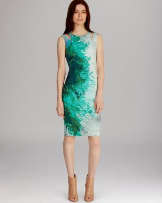 KAREN MILLEN Dress - Beautiful Paint Splash Print   Bloomingdale's