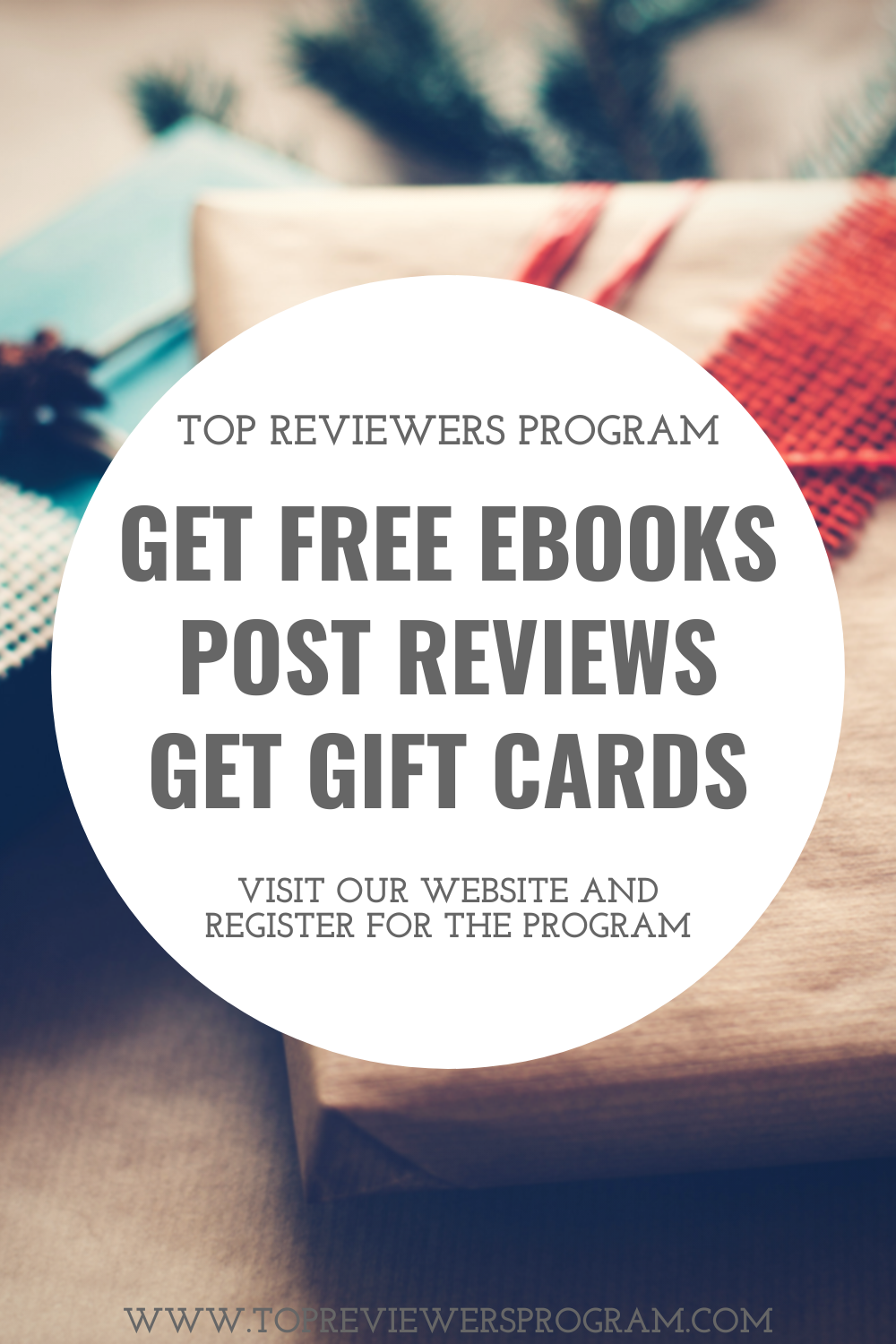 Visit our website and join the Top Reviewers Program