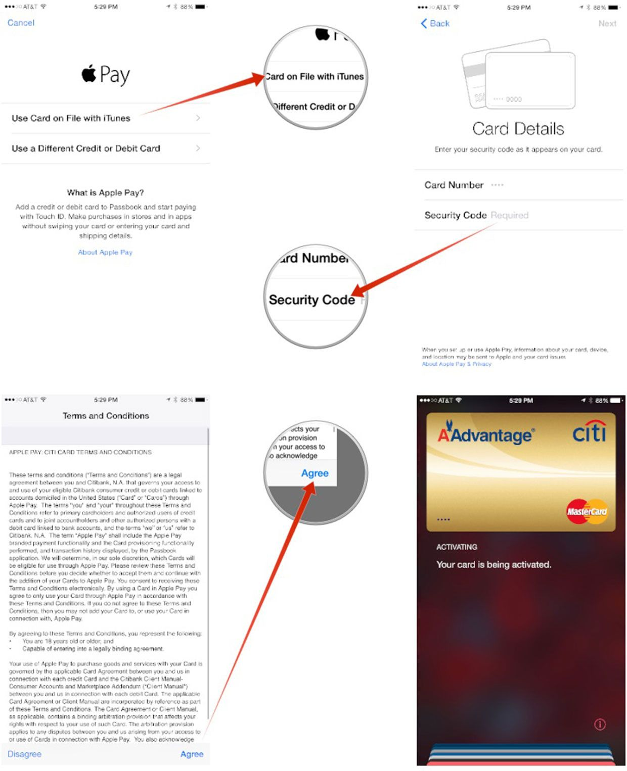 How to link itunes credit card to apple pay itunes card