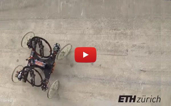 Un robot que corre por la pared – TECNOARTES.NET