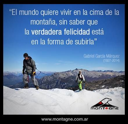 Cima De La Montaña Frases Montaña Montañas Y Frases