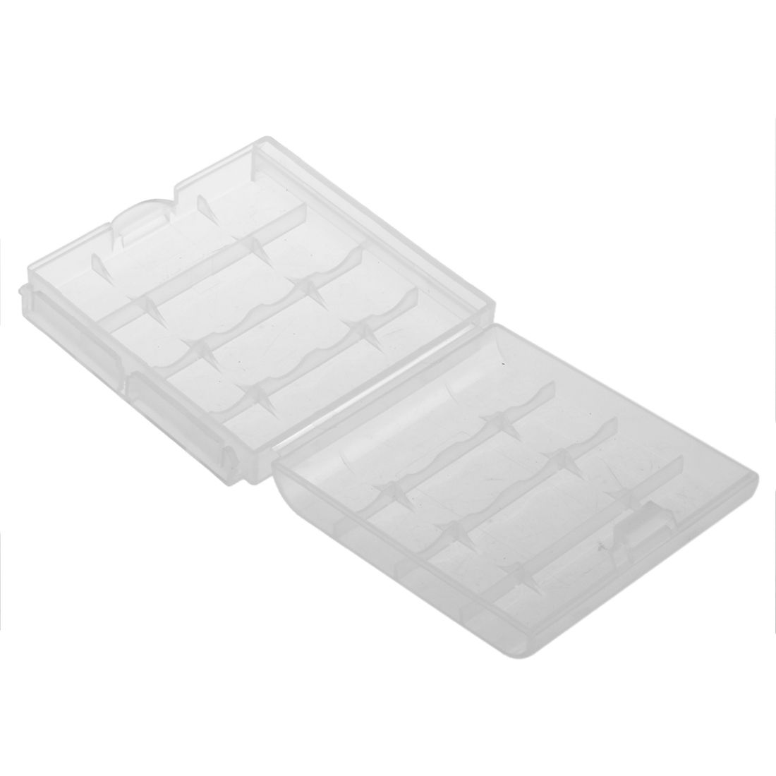Clear Hard Battery Box Storage Case Holder For 4 Aa Aaa Rechargeable Batteries Cheap Storage Storage Boxes Organization