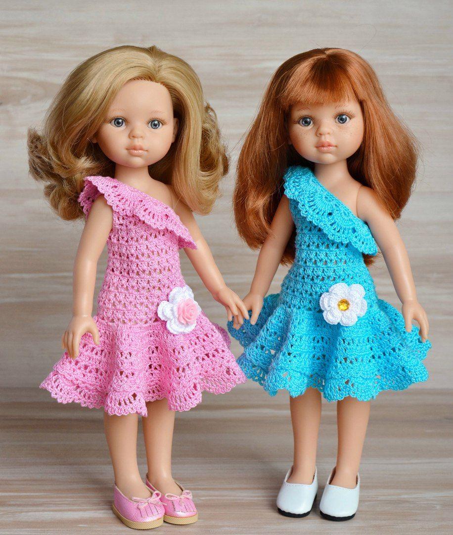 Испанские куклы Paola Reina #crochetdresses   tejido   Pinterest ...