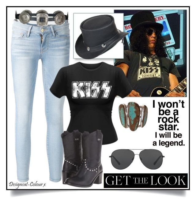 """""""Get the Look - Slash"""" by designcat-colour ❤ liked on Polyvore featuring Frame, Ralph Lauren, Overland Sheepskin Co., Dingo and Michael Kors"""