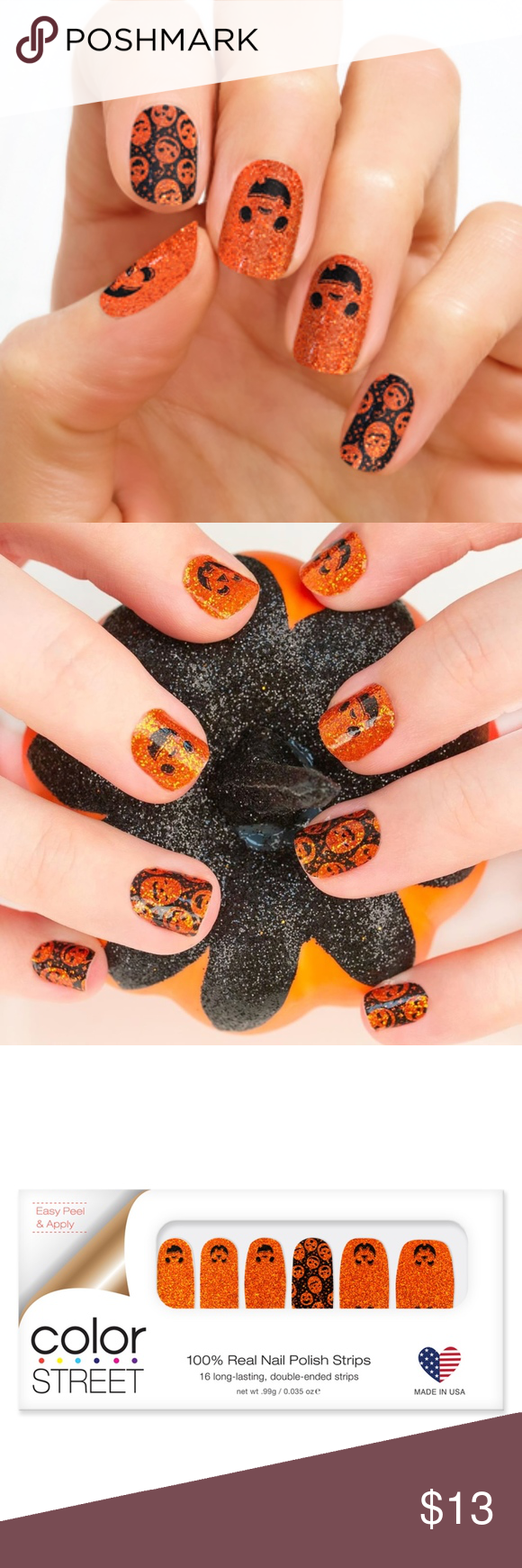 Halloween Color Street // Oh My Gourd! Oh My Gourd! It ...