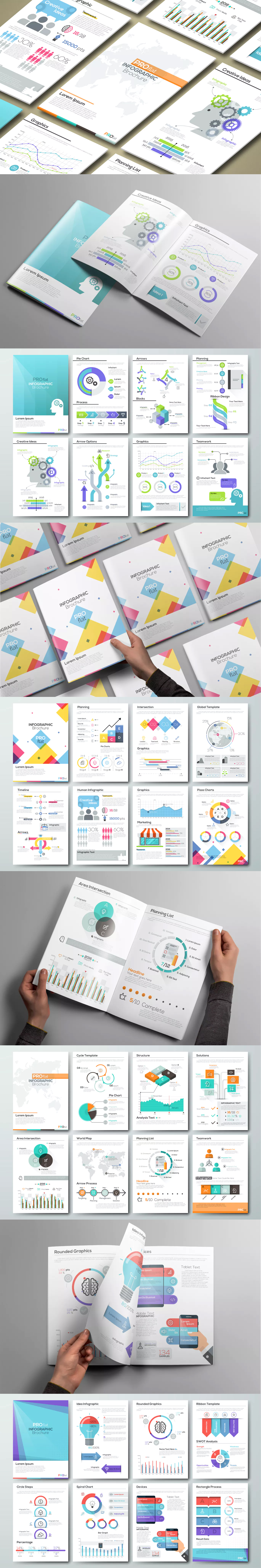 Pro flat infographic brochures template ai eps psd wrk pro flat infographic brochures by andrewkras on envato elements gumiabroncs Image collections