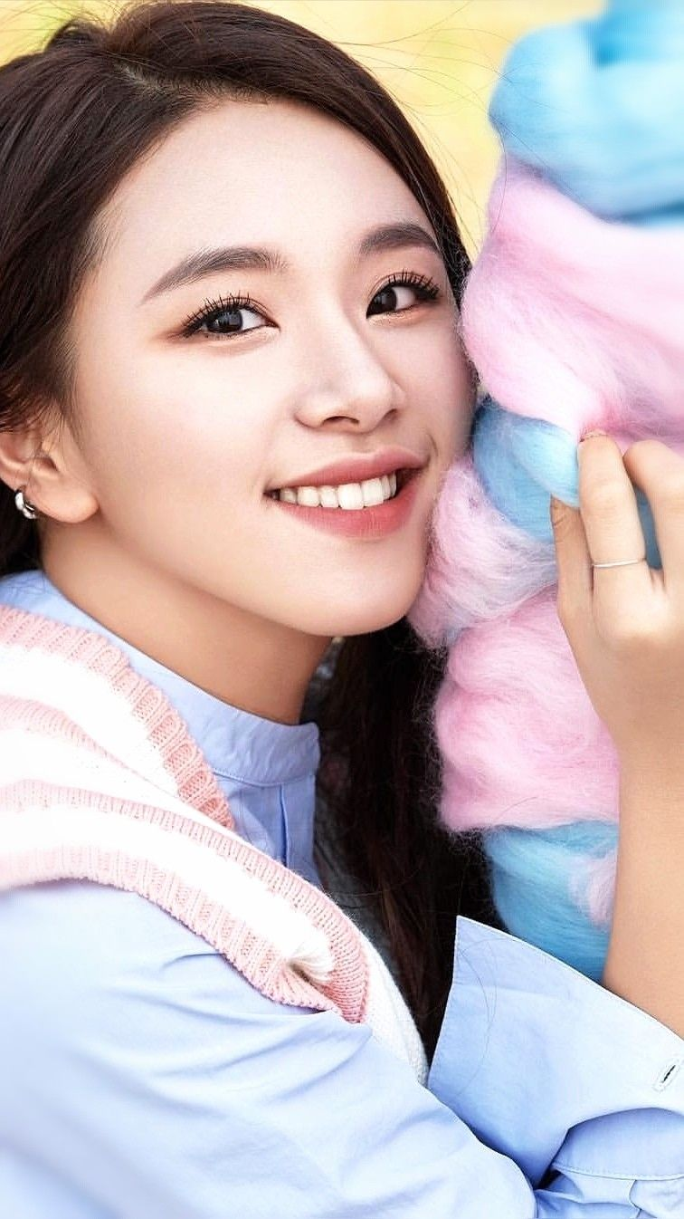 Chaeyoung Kpop Twice Chae Kpop Sonchaeyoung Idol Kpopidol Koreanmusic Chaetwice Jyp Baby Face Korean K Pop Face