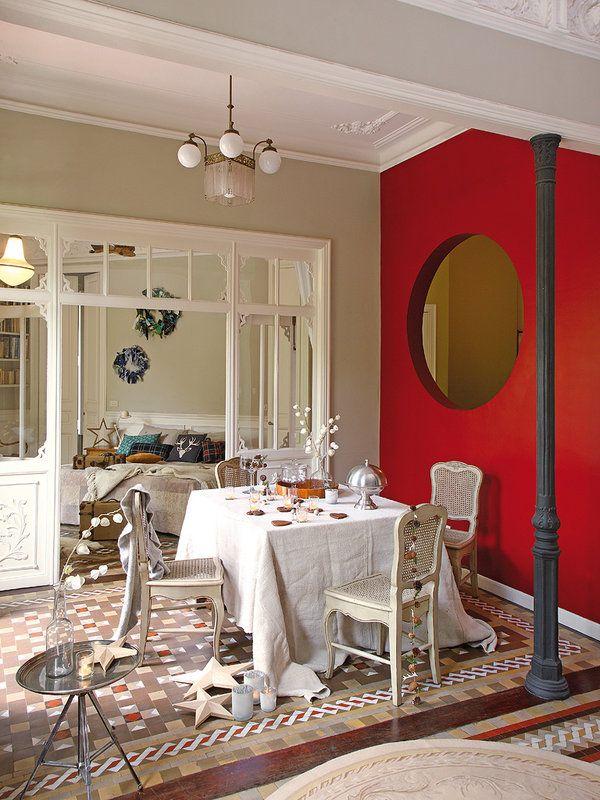 Un piso señorial con encanto