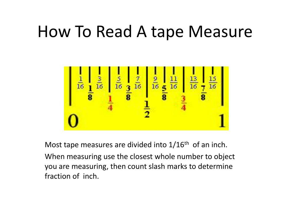 Reading A Tape Measure Worksheet How To Read A Tape Measure Tape Measure Tape Inches reading tape measure worksheet
