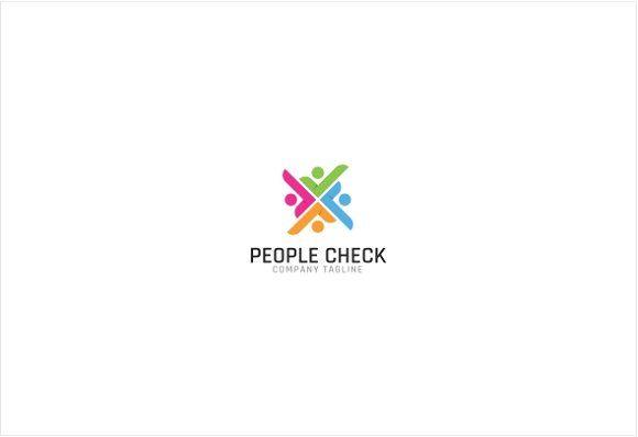 Social People Check Logo Templates ** Professional Logo
