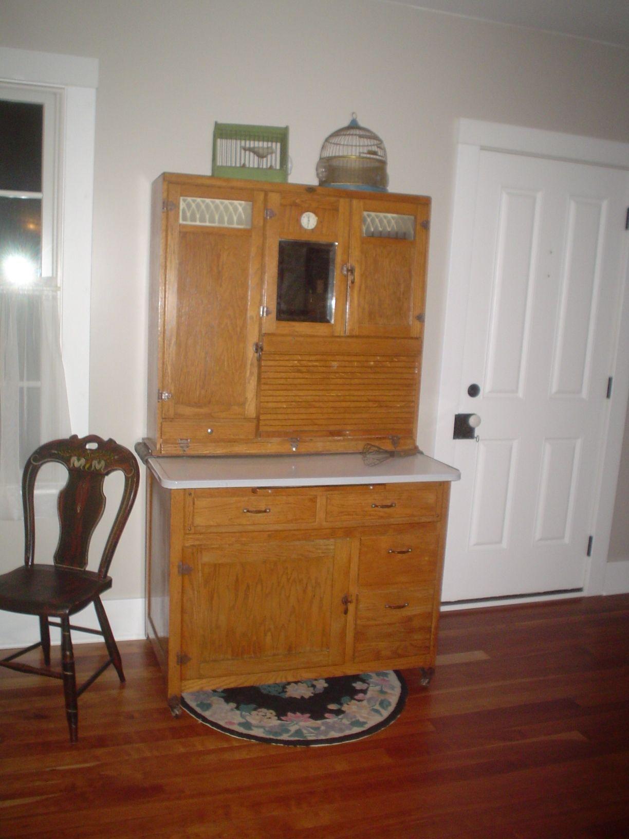 1929 Boone Hoosier Cupboard & 1929 Boone Hoosier Cupboard | Bob and Elaineu0027s House | Pinterest ...