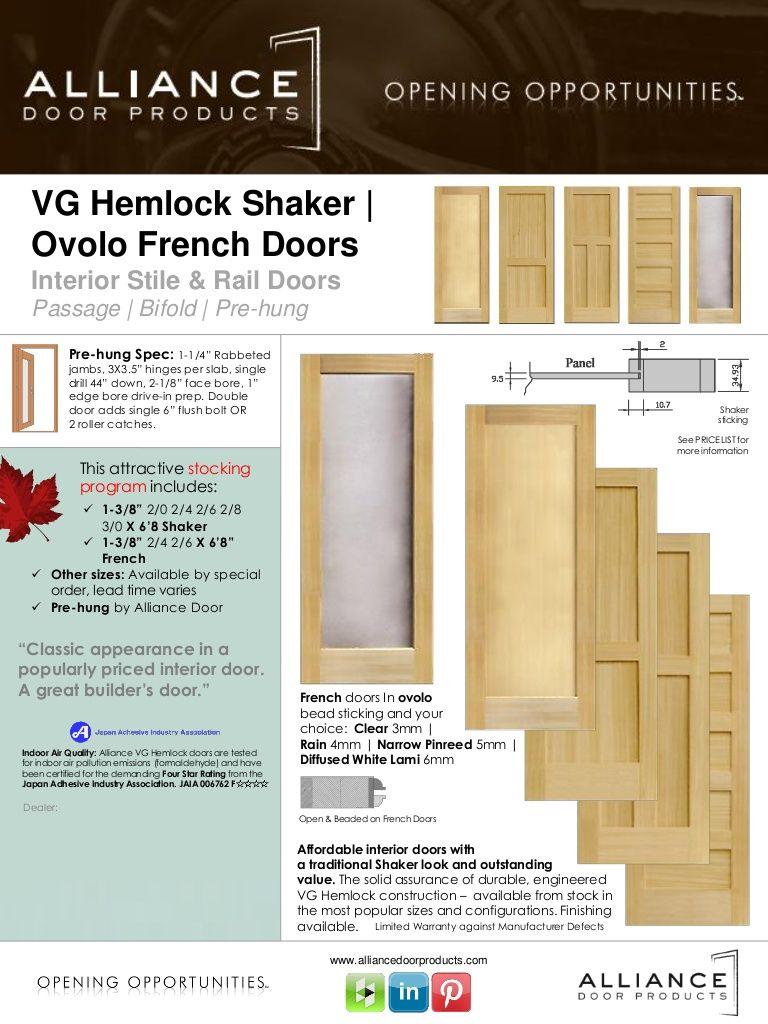Attrayant VG Hemlock By Alliance Door Products