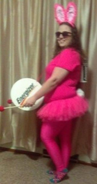 Cool Homemade Energizer Bunny Halloween Costume Bunny halloween - halloween costume ideas for men diy