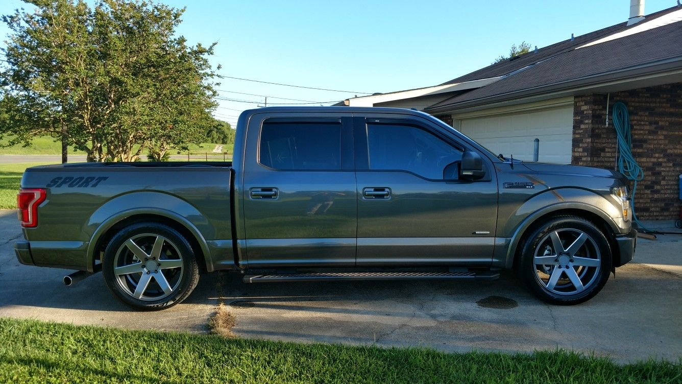2016 F-150 2/4 McGaughy out  22 Verde Invictus rims