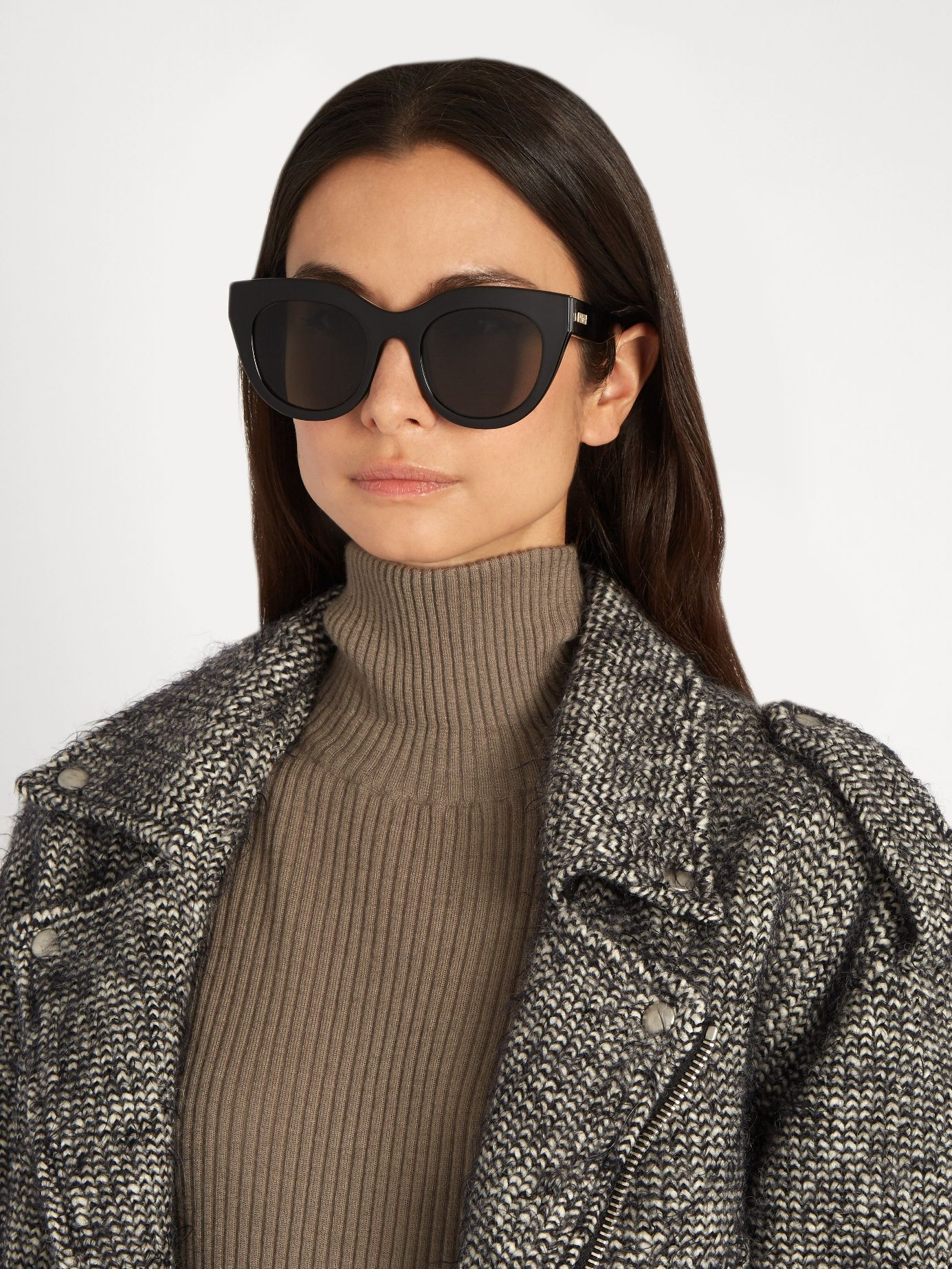 2a87785f2571a Click here to buy Le Specs Air Heart cat-eye frame sunglasses at  MATCHESFASHION.COM