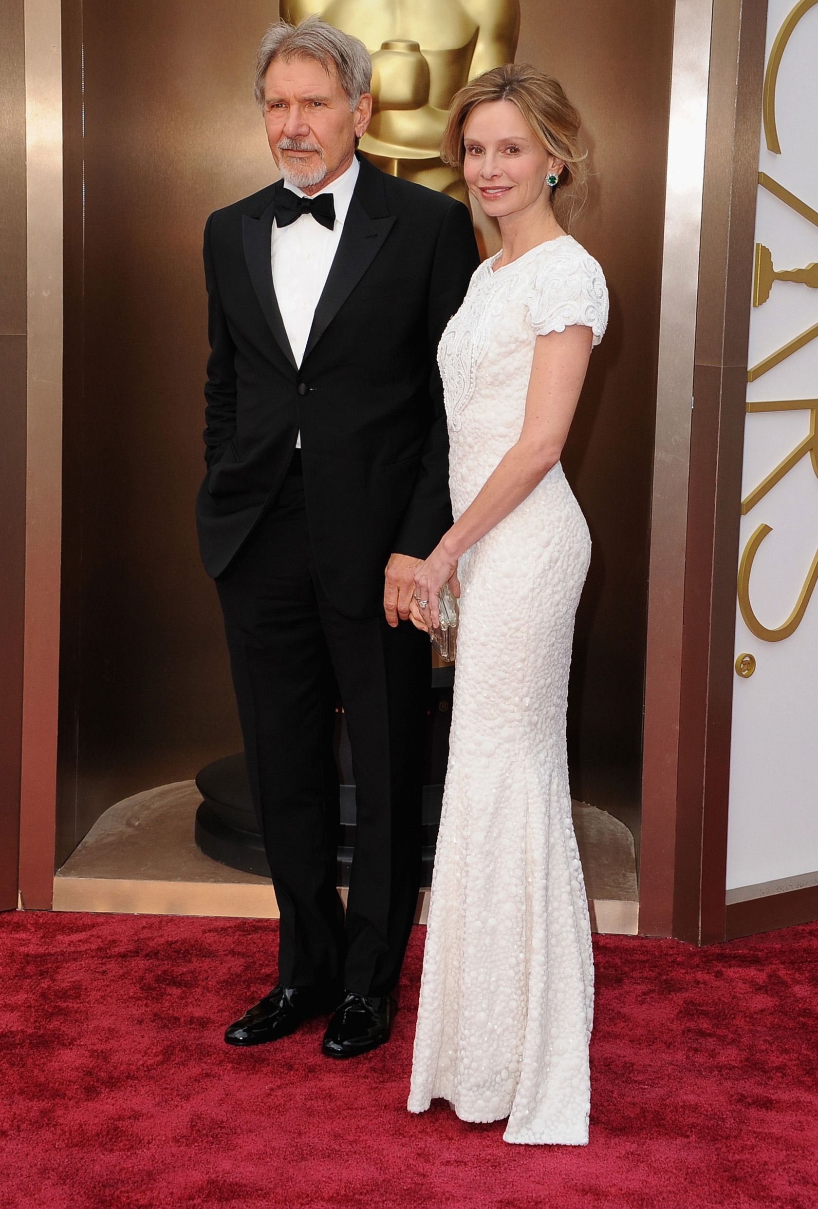 Harrison Ford And Calista Flockhart With Images Red Carpet