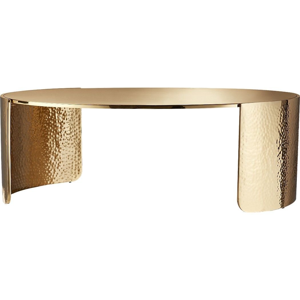 Shop Cuff Hammered Gold Coffee Table Hand Hammered Coffee Table Forges A Fashionable Statement For The Living Hammered Coffee Table Gold Coffee Table Table [ 1050 x 1050 Pixel ]