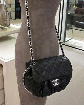 Chanel Black Small Chain Around Bag Handbags