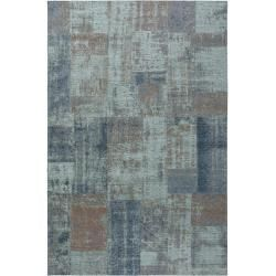 Design Carpets Benuta Trends Flat Woven Carpet Frencie Blue Brown 120 180 Cm Vintage Carpet In Used In 2020 Flat Weave Carpet Shabby Chic Decor Diy Blue Carpet
