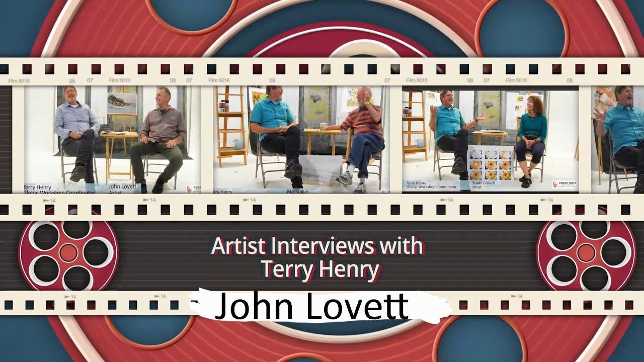 Cheap Joe S Terry Henry Interviews Watercolor Artist John Lovett