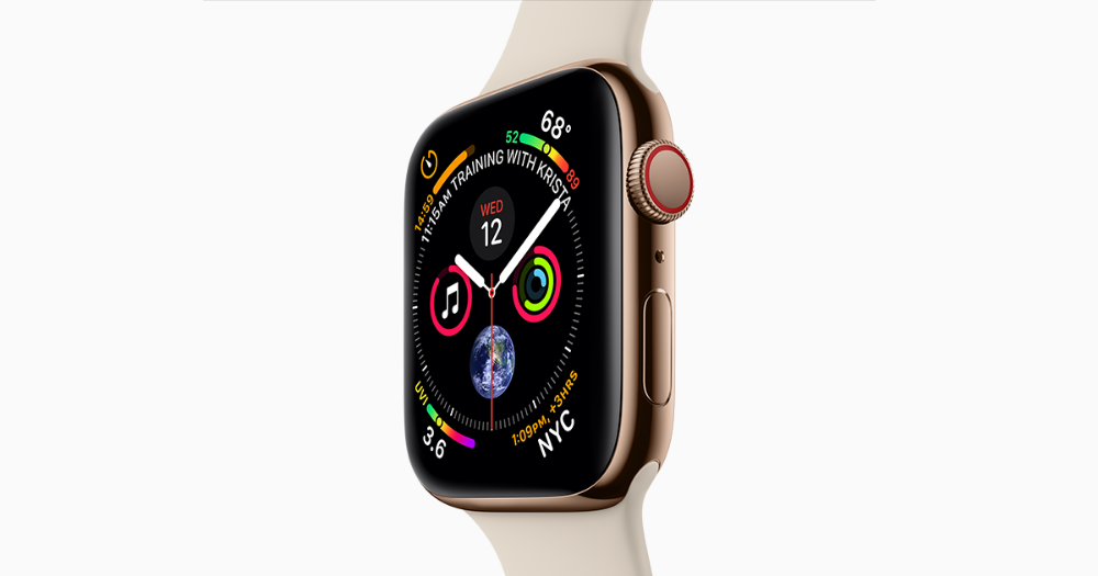 Apple Watch Series 4 Features Its Largest Display Yet A Re Engineered Digital Crown Cellular To Make Calls And Coming S Apple Watch Apple Watch Series Apple