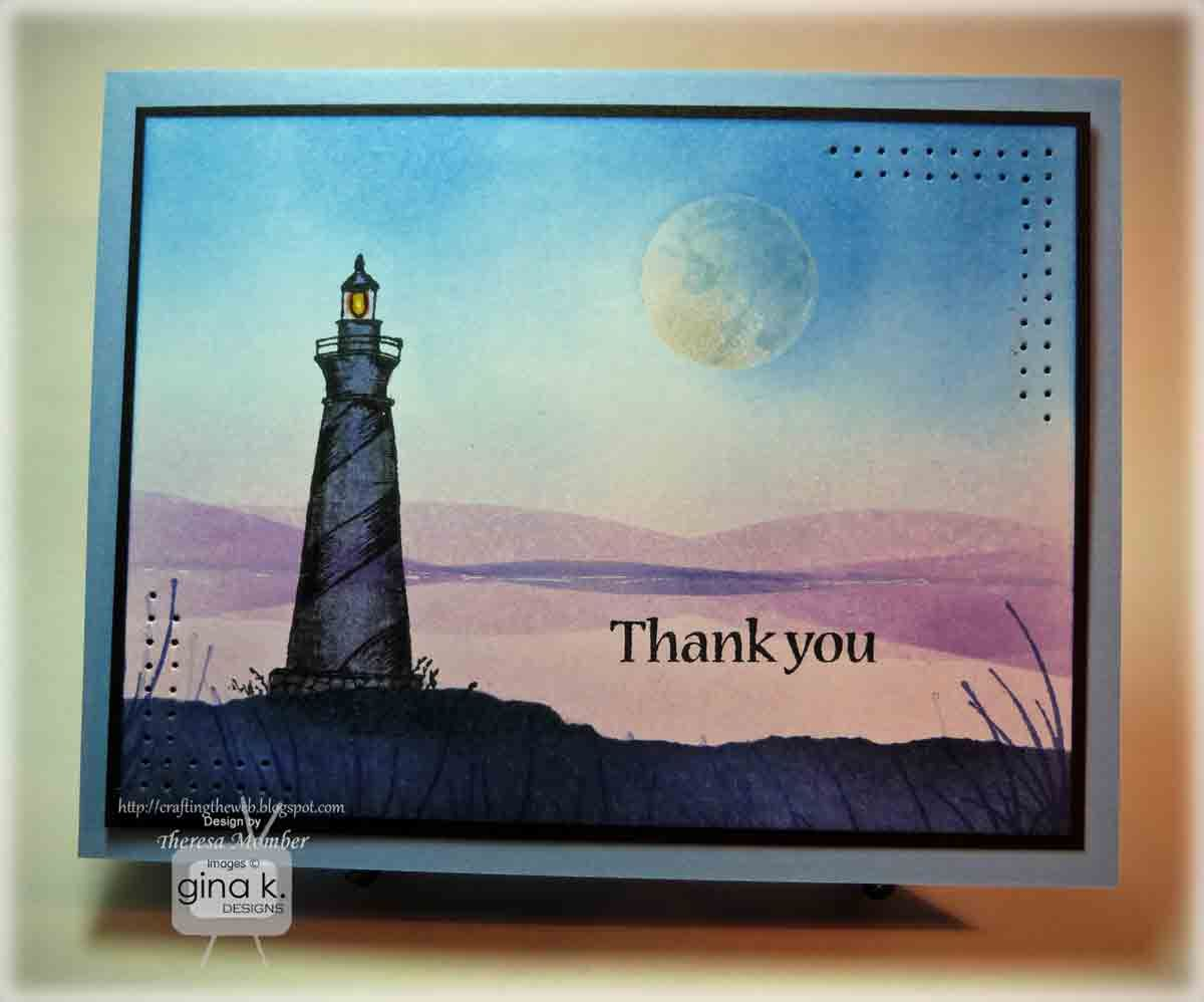 Crafting the web moonlit lighthouse tutorial crafting the web crafting the web moonlit lighthouse tutorial card tutorialsgreeting kristyandbryce Choice Image