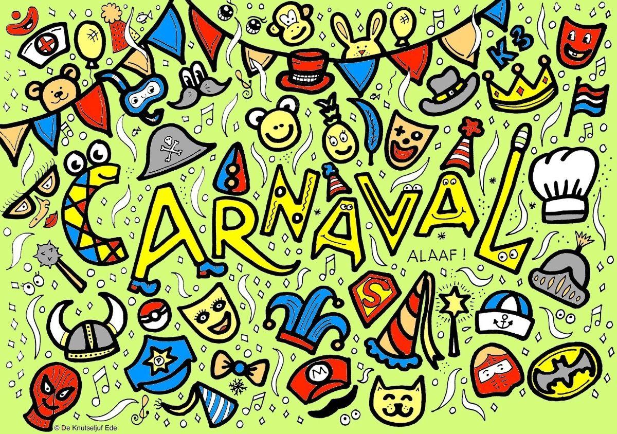 Block Poster Carnaval Kleurplaat Voor 25 Personen Blockposter Kleurplaat Kleurposter Carnaval Carnavalsposter Kleurpl Poster Carnaval Kleurplaten