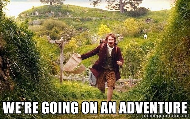 were going on an adventure meme - Google Search | Vacation meme, Vacation  humor, Travel meme