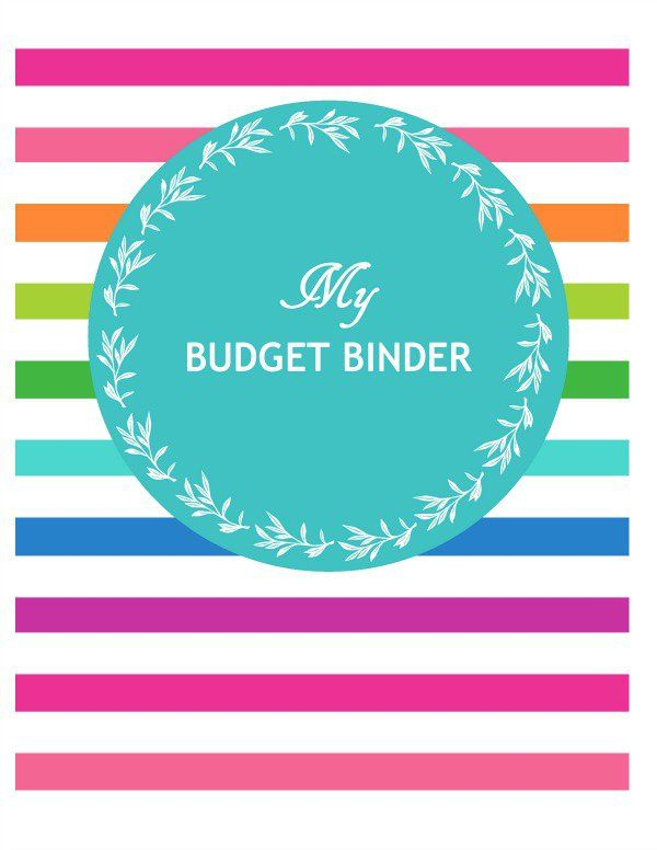 Budget Binder  Ideas  Printable Budget Binder And