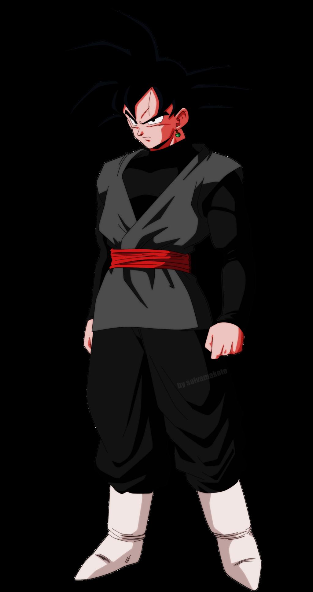 Black Goku By Salvamakoto On Deviantart Goku Black Anime Dragon Ball Super Dragon Ball