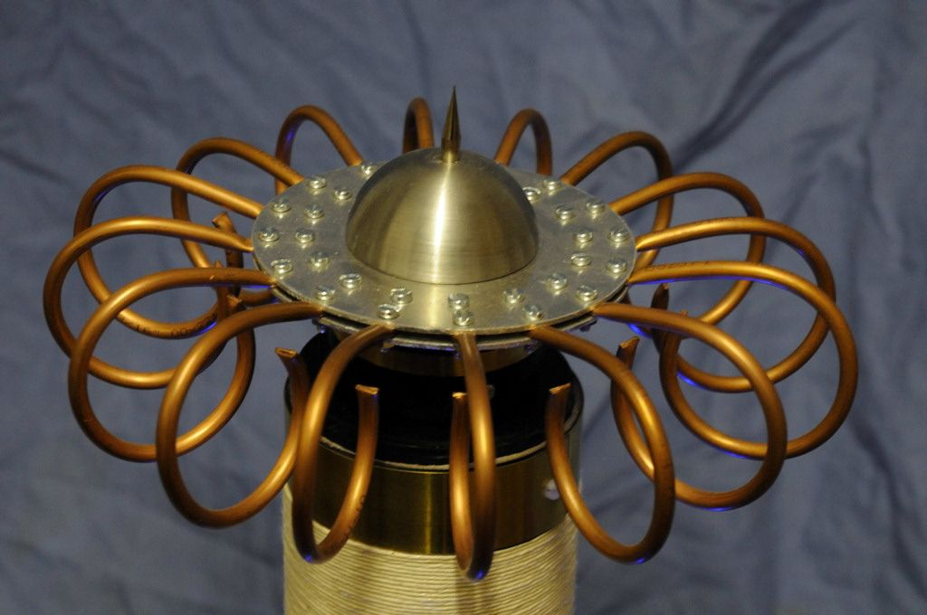 Steampunk tesla coil pictures - the Aetheriser | The Real ...