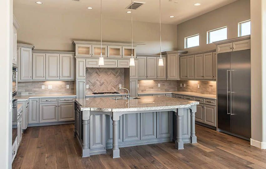 Gray Kitchen Cabinets Design Ideas Budget Kitchen Remodel Kitchen Cabinet Design Grey Kitchen Cabinets