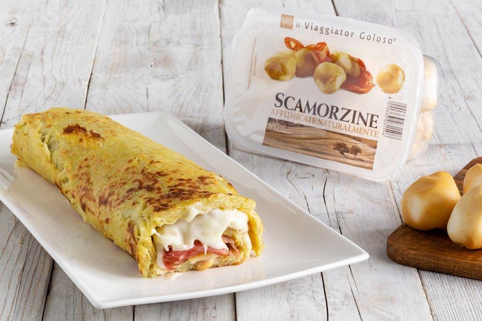 Photo of Ricetta Rotolo di patate con speck e scamorza affumicata