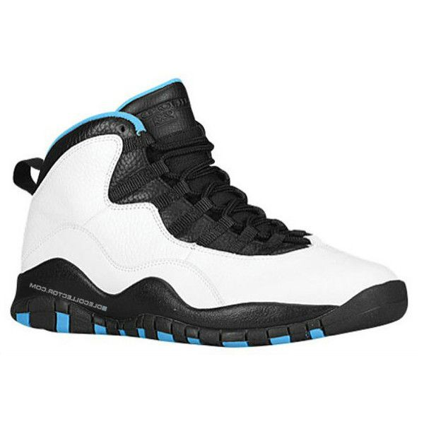the best attitude 294b1 becf4 real air jordan 10 powder blue discounts valentines jordans shoes for liked  on polyvore featuring shoes