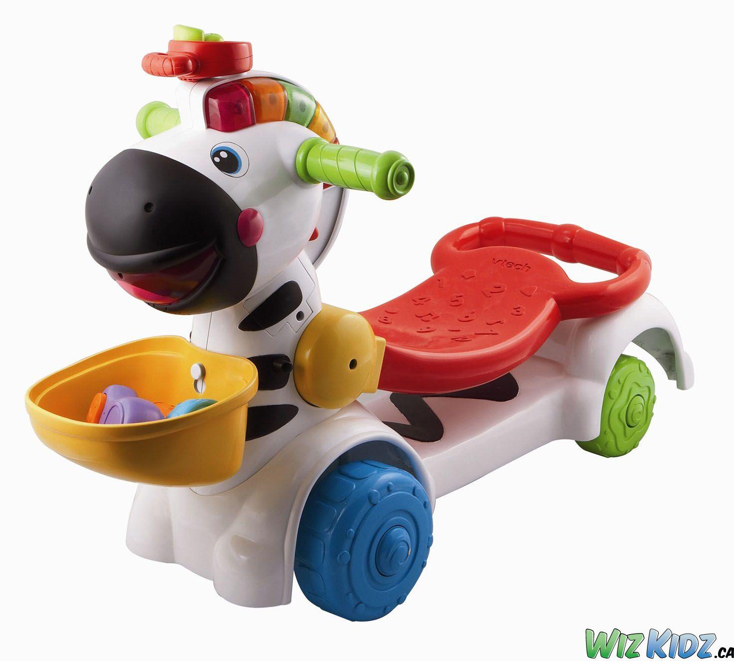 @vtechtoys 3-in-1 Learning Zebra Scooter. #kids #toys #development