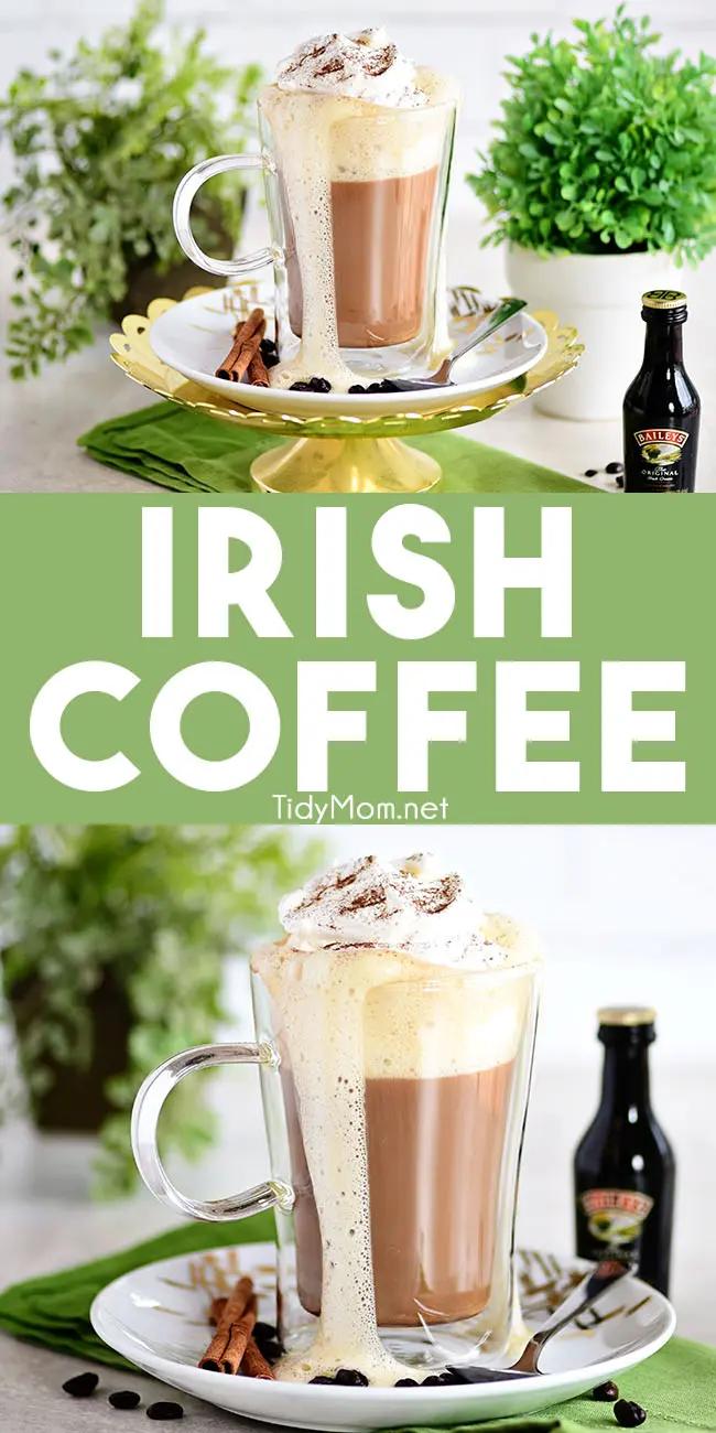 CREAMY BAILEY'S IRISH COFFEE COCKTAIL Recipe in 2020