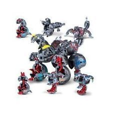 Maxus Helios is a combination of 7 Bakugan that unite to form the ultimate monster. All the Bakugan that compose Maxus Dragonoid can also be used individually in the game. 7 Bakugan unite into 1. Color combination and G Power will vary when shipped. What is Bakugan? Bakugan is a 2 player strategy game based on Cartoon Network's television series, Bakugan Battle Brawlers. Bakugan Brawlers are action figure warriors that are tucked into spheres and pop open when they're rolled onto a Gate…