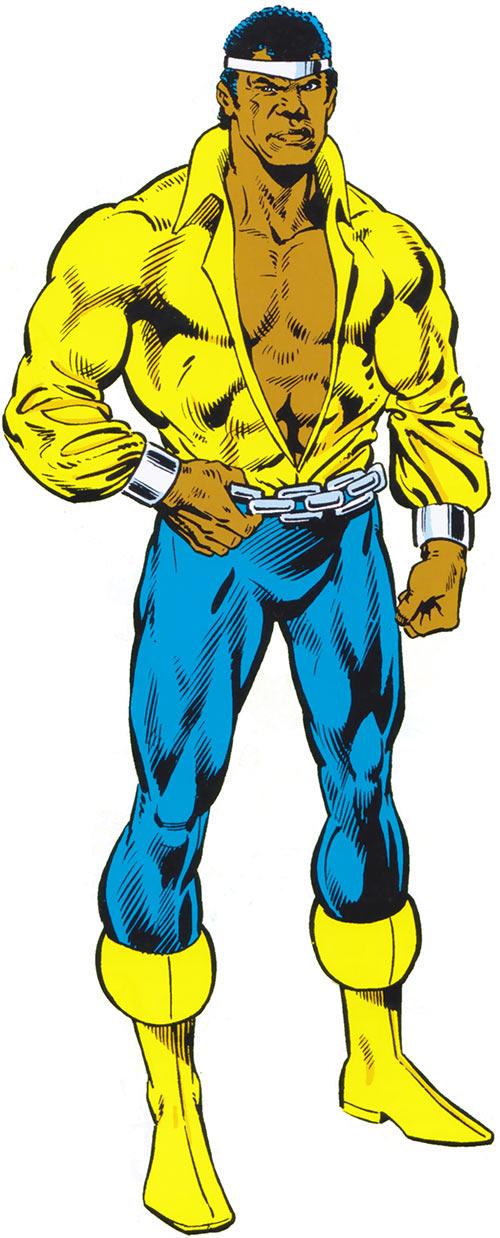 Luke Cage Hero For Hire Marvel Comics 1970s Profile Luke Cage Marvel Luke Cage Comics Luke Cage