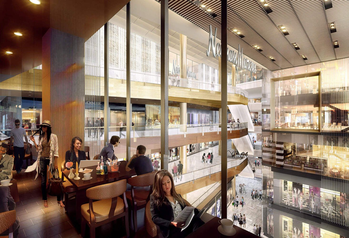 Gallery of Hudson Yards' Retail and Restaurant Spaces Unveiled in New Renderings - 11
