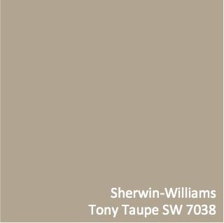 This is one of the most versatile colors for your walls. Sherwin-Williams  Tony Taupe SW 7038 Paint the living room this color!